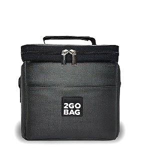 Bolsa Térmica 2goBag Mini | Chumbo