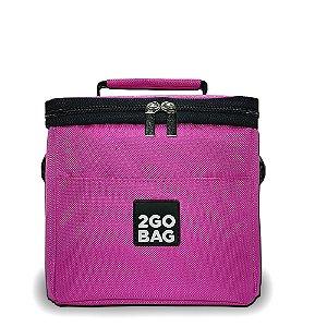 Bolsa Térmica 2go Bag Mini Pink com Capacidade para 5,3 Litros