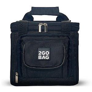 Bolsa Térmica 2go Bag Mid Sport Black com Capacidade para 6,6 Litros