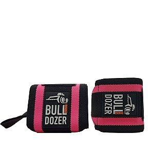 Munhequeira para Academia Musculação Fit Bulldozer - Rosa