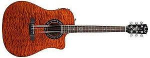 Violao Fender T-bucket 300 Ce - Amber Quilt - Takamine