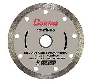 DISCO DE CORTE DIAMANTADO CONTINUO