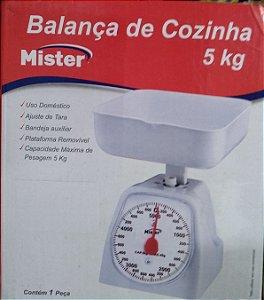 BALANÇA MECÂNICA DE COZINHA ATÉ 5KG