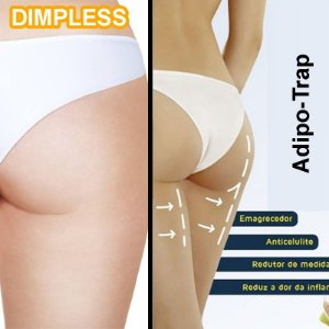 Duo  Fim da Celulite - Dimpless 40Mg - 30 Capsulas + Adipo Trap - 100 Ml