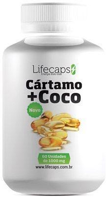 OLEO DE CARTAMO + COCO 1000Mg - 60 Capsulas