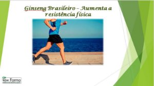GINSENG BRASILEIRO 250Mg - 60Capsulas
