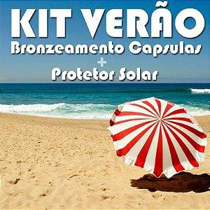 Kit Verão (Betacaroteno com Loção oil free Fps 30)