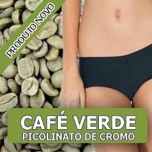 CAFE VERDE COM PICOLINATO DE CROMO(Thermogenico Natural) 150Mg -60 CAPSULAS