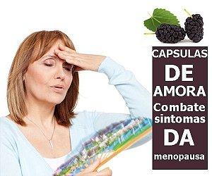 CAPSULAS DE AMORA (Combate sintomas da Menopausa) 300 Mg - 60 Capsulas