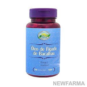 Oleo Figado de Bacalhau 1000Mg - 100 Capsulas