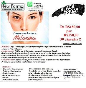 TRATAMENTO DE MELASMA COM BIOBLANC - 30cap