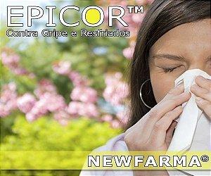 EPICOR (Contra gripes e Resfriados) 250 Mg - 60 Capsulas