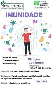 Cápsulas para imunidade