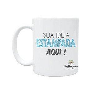 CANECA BRANCA PARA PERSONALIZAR - 100 UNIDADES