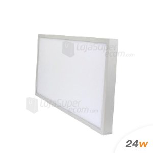 Painel Plafon Sobrepor Led 30x60 24w