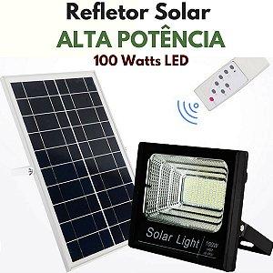 Refletor Energia Solar de Luz ALTA POTENCIA - 100 Watts LED
