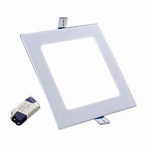 Luminária Painel Plafon Quadrado Embutir