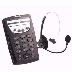 Telefone Maxtel MT-108 Atendimento Telemarketing