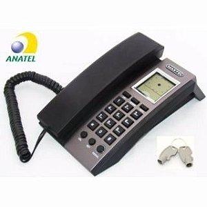 Telefone Com Identificador De Chamadas - Maxtel - Mt-6006