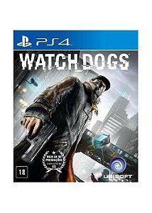 WATCH DOGS (SEMI-NOVO) - PS4