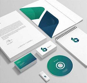 Criação de Logomarca e 6 artes para Itens de Papelaria