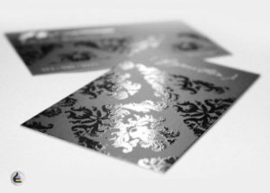 2.000 Cartões De Visita 300g - 500 para 4 pessoas diferentes - Fosco E Verniz Local Frente  Verso