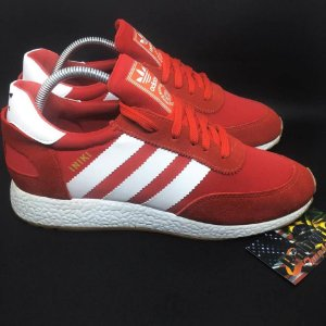 "Tênis Adidas INIKI Runner  ""Red"""