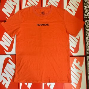 "Camiseta Anti Social Club ""PARANOID"" - Orange"