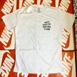 Camiseta Anti Social Social Club - Branca