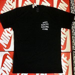Camiseta Anti Social Social Club - Preta