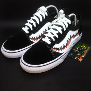 "Tênis Vans x Bape Old School ""Custon"""