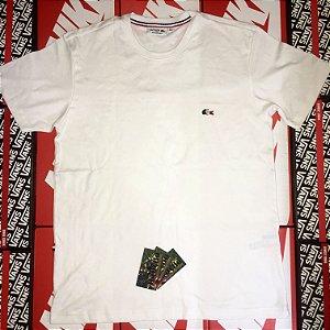Camiseta Lacoste Lisa - Branca