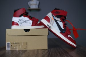 Tênis Nike Air Jordan 1 OFF-WHITE  - ENCOMENDA