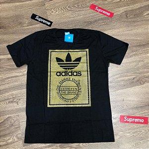 """Camiseta Adidas Originals """"Gold"""" - Preta"""