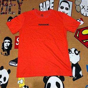 "Camiseta Anti Social Social Club ""PARANOID"" - Laranja"