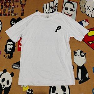 """Camiseta PALACE """"P"""" - Branca"""