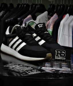 Tênis Adidas INIKI - Preto/Branco