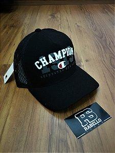Boné Champion Trucker Preto