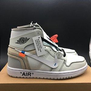 Nike Jordan 1 x Off-white 'Unc White - SOB ENCOMENDA