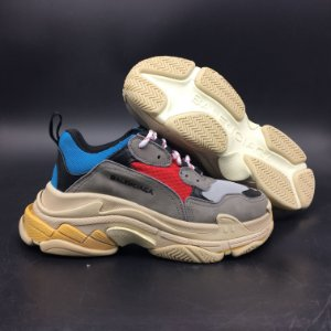 "Balenciaga Triple S ""Red/Blue - ENCOMENDA"