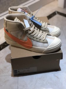 Nike Blazer Mid X Off-white All Hallow's Eve - Sob Encomenda