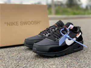 Off-White X Air Max 90 Black - ENCOMENDA
