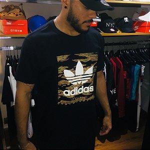 Camiseta Adidas Originals Logo - Preta