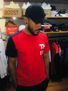 Camiseta Puma Ferrari  Santander  - Vermelha - Rabello Store 23f219a3f2e