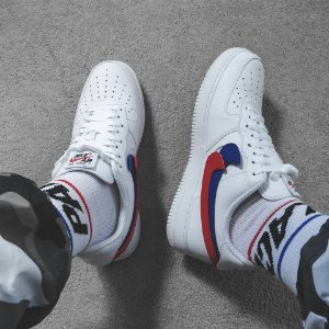 Nike Air Force 1 x Branco 'Velcro Color' - ENCOMENDA