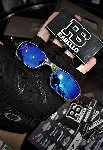 Óculos Oakley Juliet 'Blue' - Custom