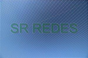 Rede para Society Futebol de 6 na Cor Verde no Fio 2 - Malha 15 - Medidas de 18,50x36,50 metros