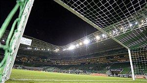 PAR Rede de Gol para Futebol de Campo Oficial Colorida do seu Time de Coração  ( Fio 8 - Malha 12 )