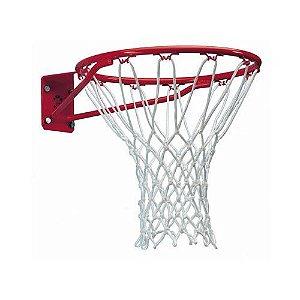 Par Rede de Basquete Oficial Modelo Chuá NBA em Corda Seda Fio 8