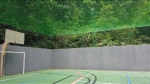 Rede de Proteção Esportiva Sob Medida para Cobertura de Quadras de Tênis e Poliesportivas - Fio 2 - Malha 5